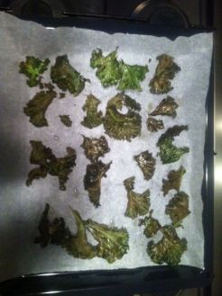 bloemkool chips