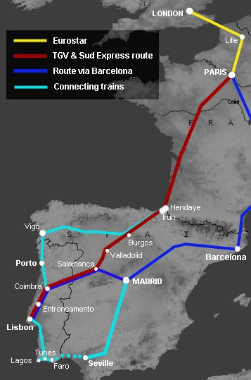 Portugal-train-map